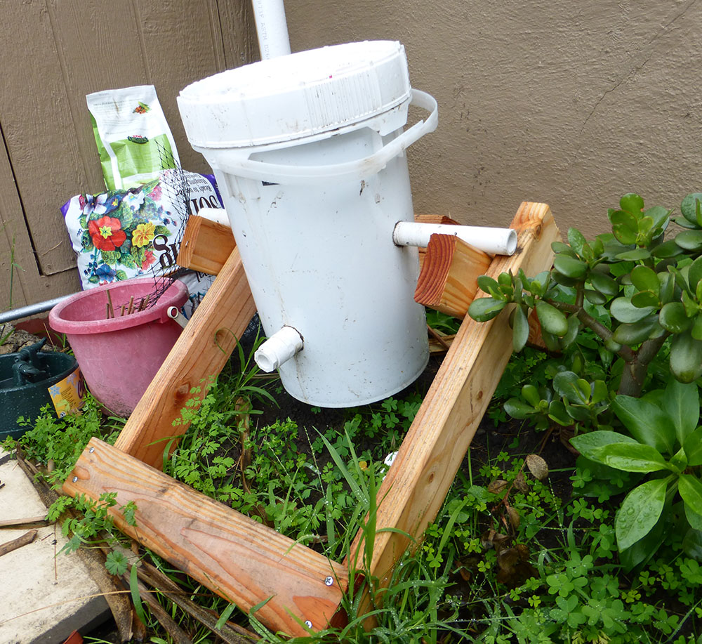 Garden Level Up Make This Simple Compost Tumbler From 1