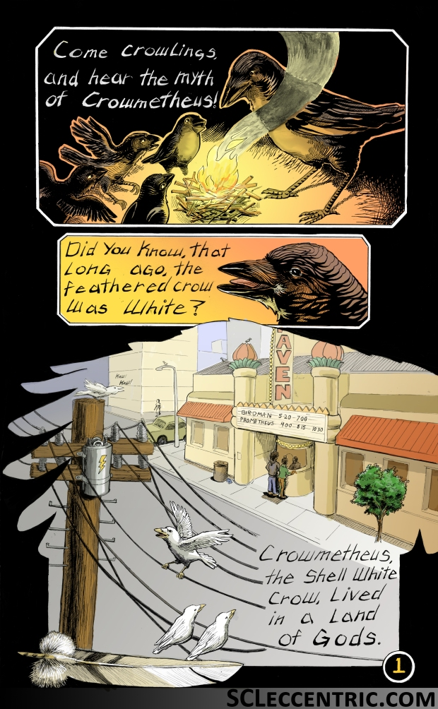 Crowmetheus Page 1 color